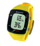 24810 Часы SIGMA ID.RUN YELLOW 24810, желт., часы c GPS, секундомер