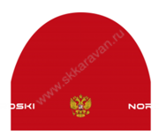 114900 Шапка Nordski Active Red Rus